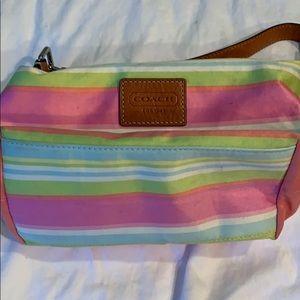 Coach small summer bag pastel